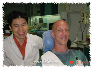 Dentist Phuket at Phuket Dental clinic,Thailand