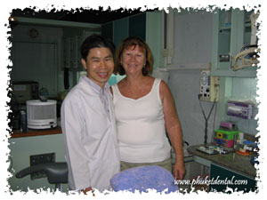 Phuket Dentist at Phuket Dental Clinic,Thailand